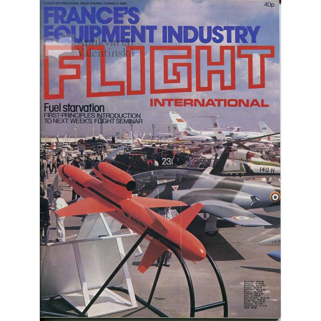 Flight International 29/3/1980, No. 3706, Vol. 117 (letadla, letectví)