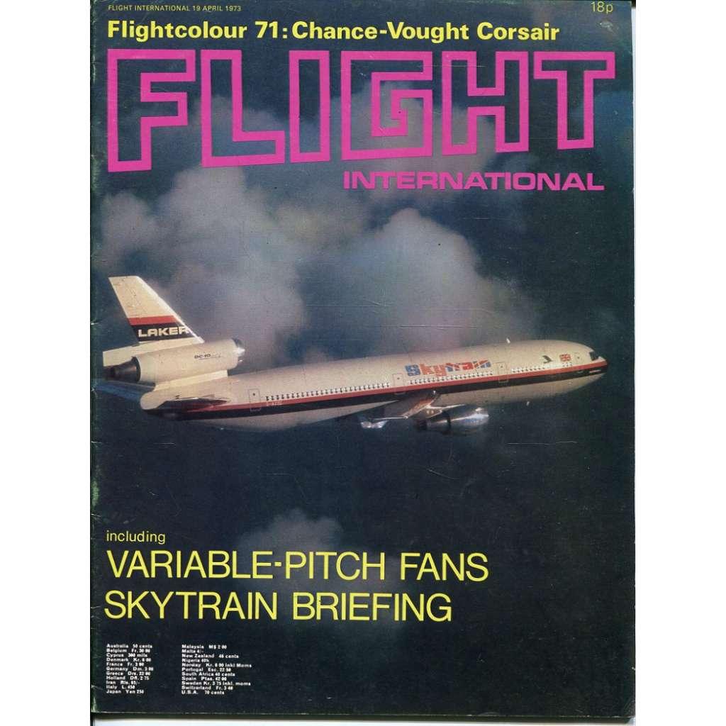 Flight International 19/4/1973, No. 3345, Vol. 103 (letadla, letectví)
