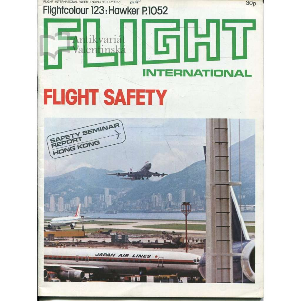 Flight International 16/7/1977, No. 3566, Vol. 112 (letadla, letectví)