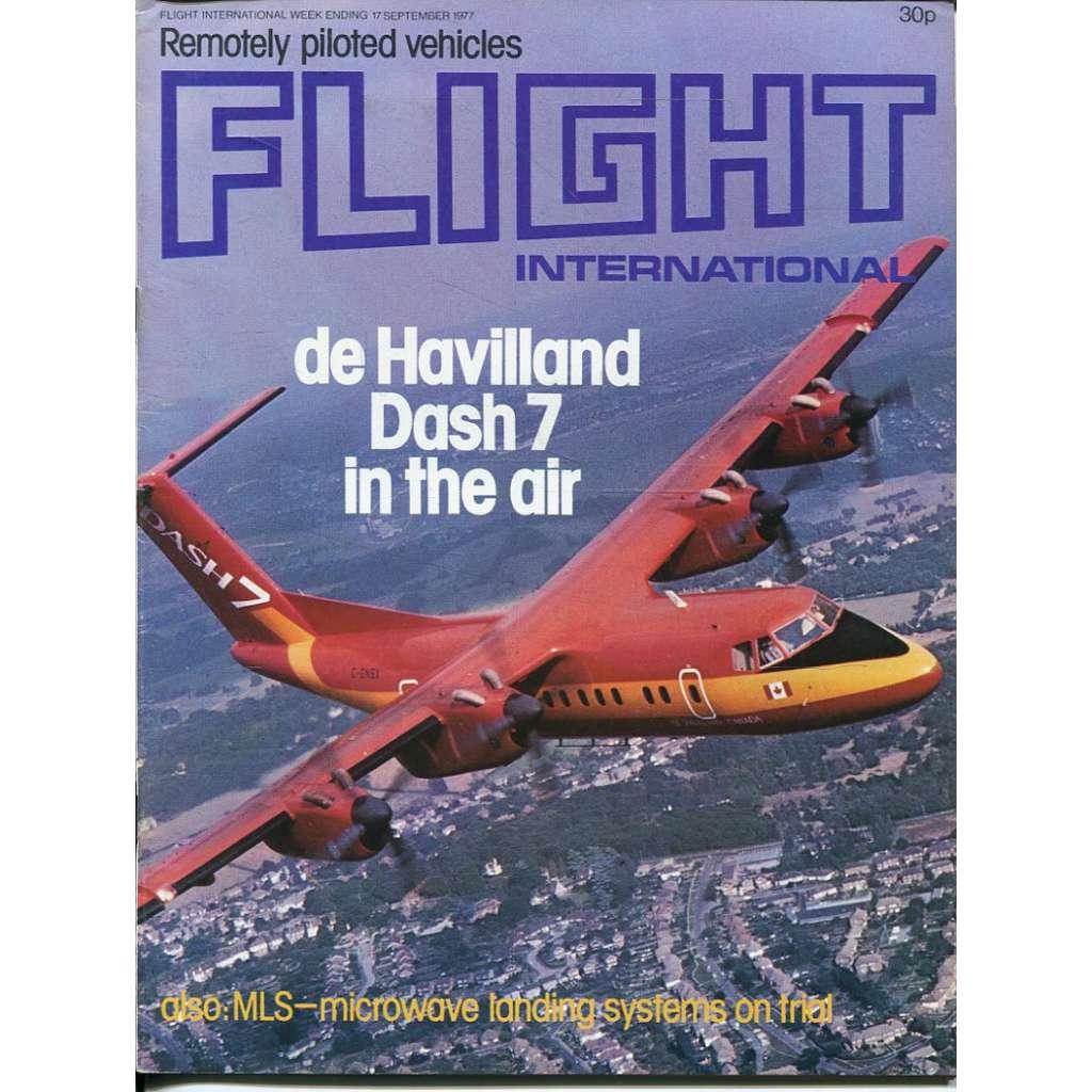 Flight International 17/9/1977, No. 3575, Vol. 112 (letadla, letectví)
