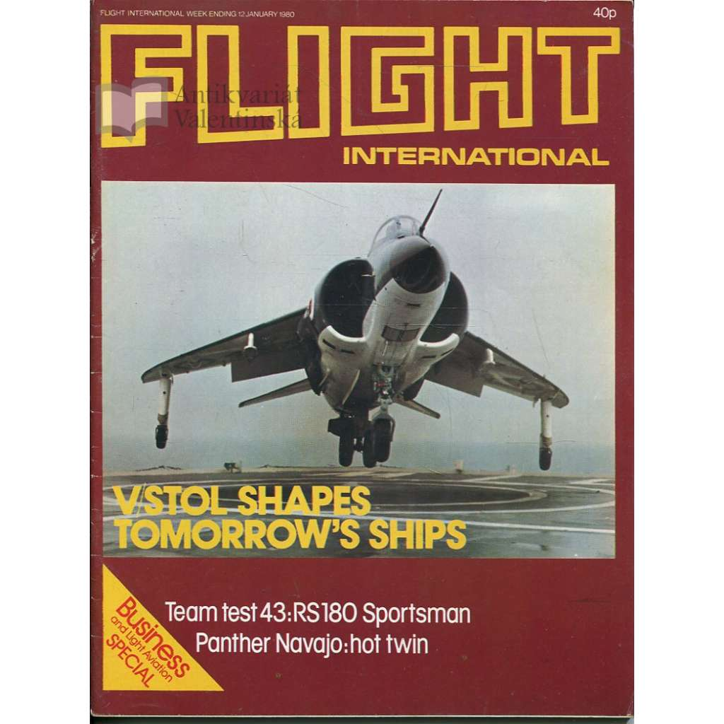 Flight International 12/1/1980, No. 3695, Vol. 117 (letadla, letectví)