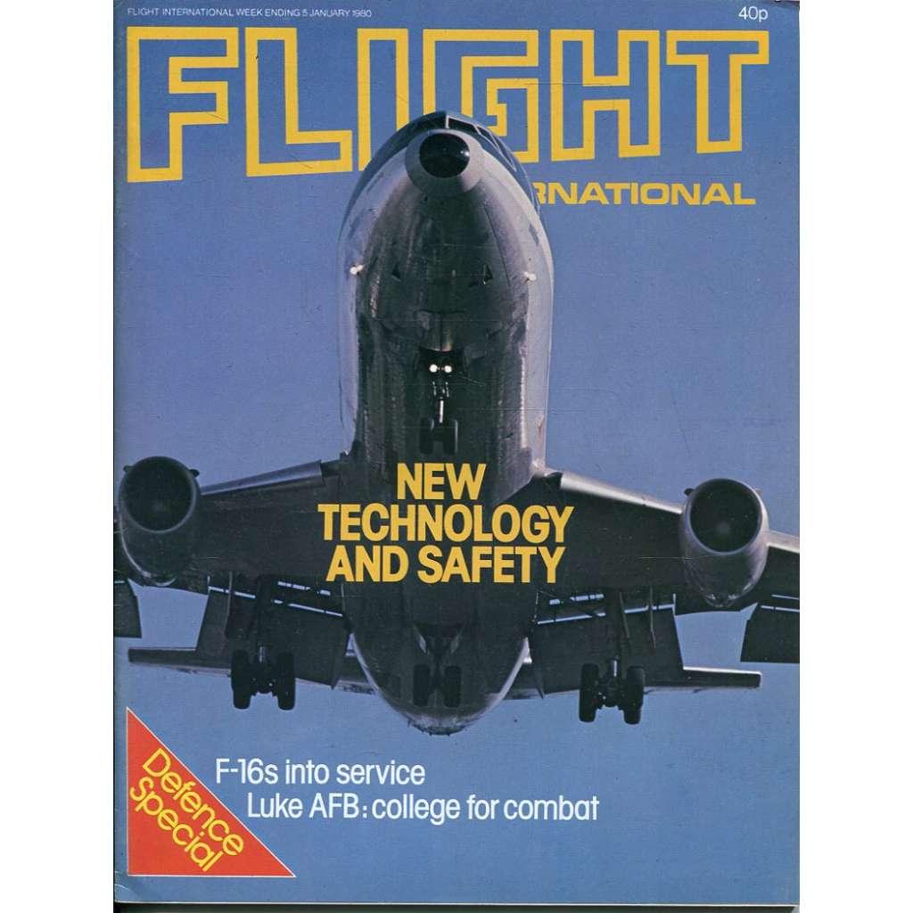 Flight International 5/1/1980, No. 3694, Vol. 117 (letadla, letectví)