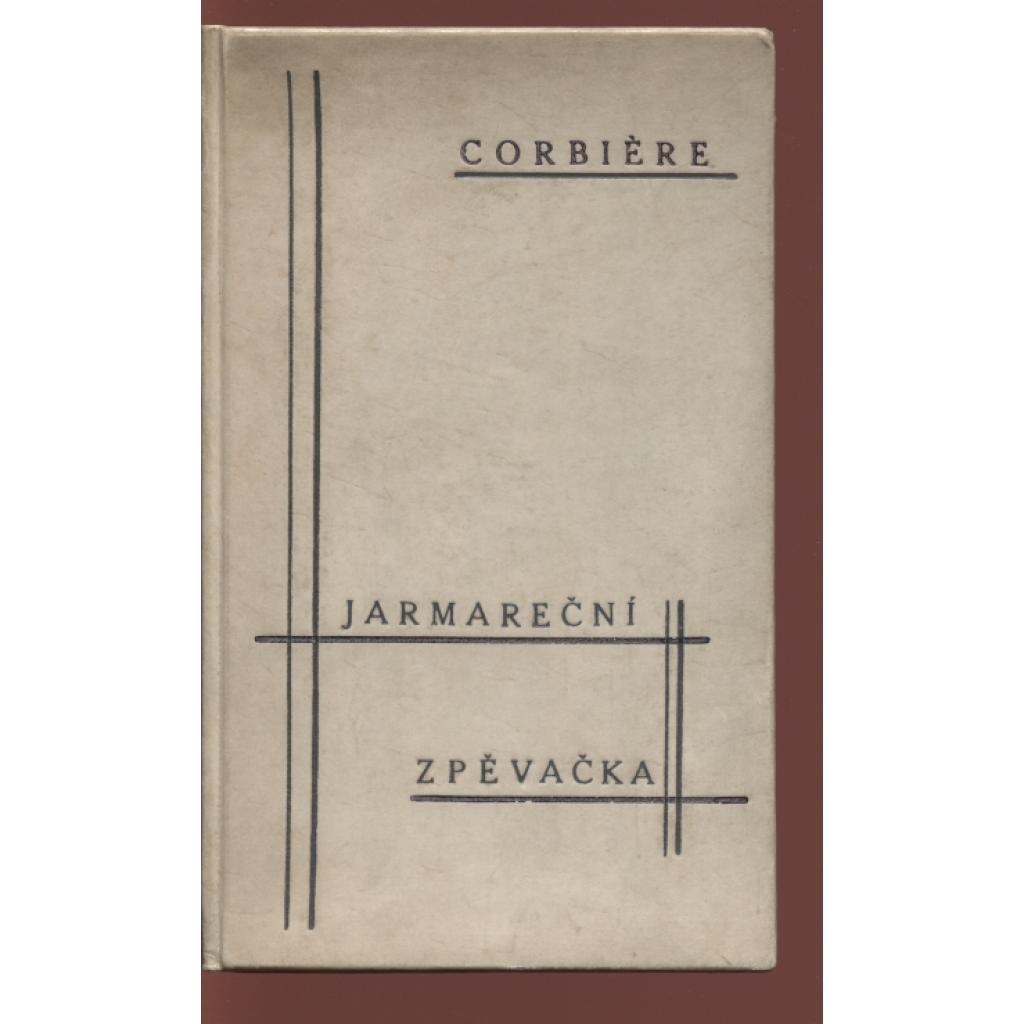 Jarmareční zpěvačka (podpis Jindřich Hořejší)