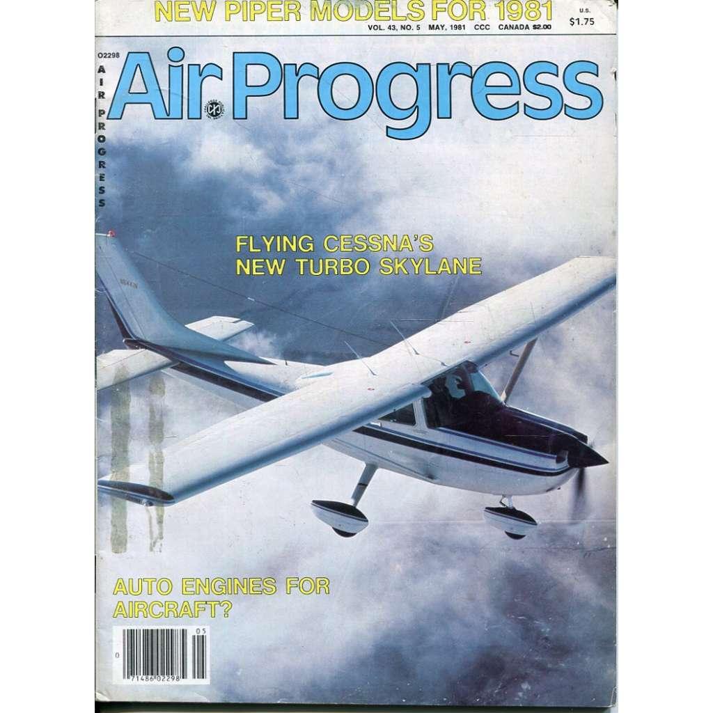 Air Progress 5/1981, Vol. 43, No. 5 (letectví, letadla)