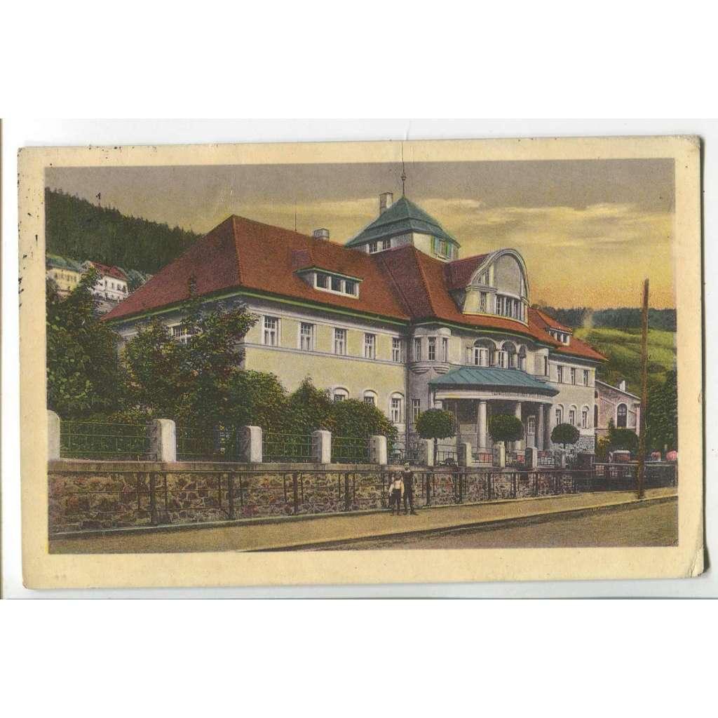 Jáchymov, Karlovy Vary, (pošk.)