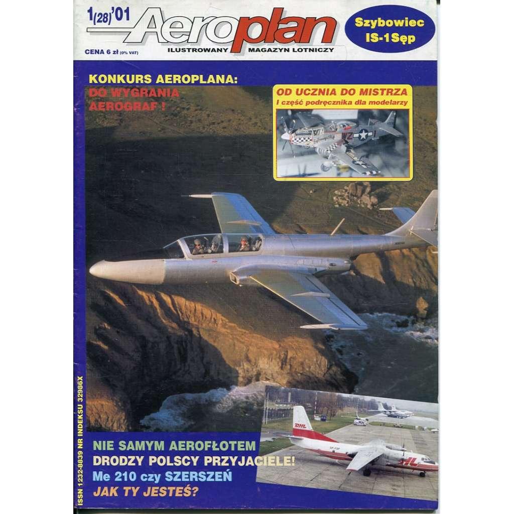 Aeroplan 1/2001 (letadla, letectvo)