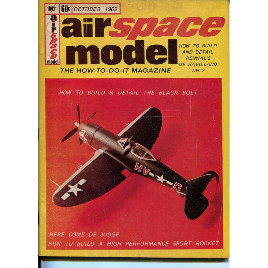 Airspace Model 10/1969, Vol. 1, No. 5 (letadla, modelářství)