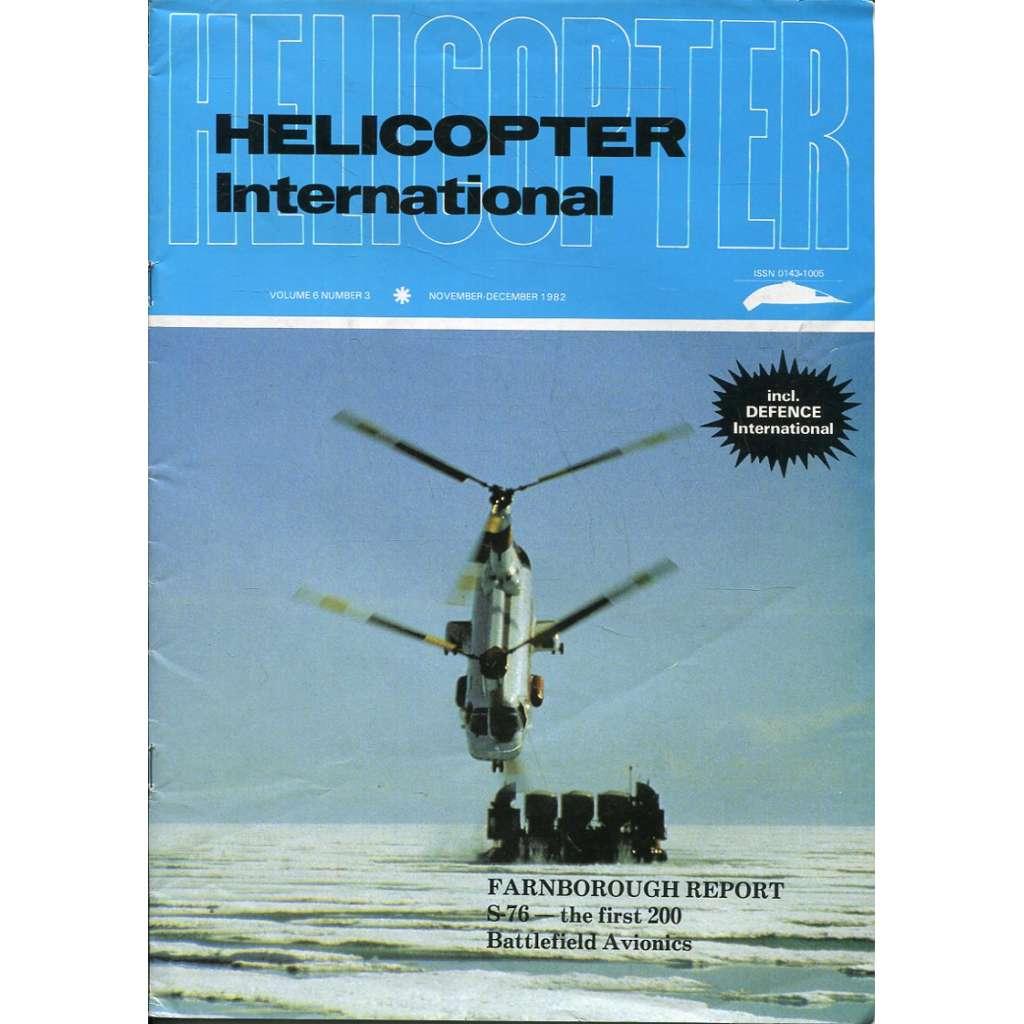 Helicopter International 11-12/1982, Vol. 6, No. 3 (letectví, helikoptéry)