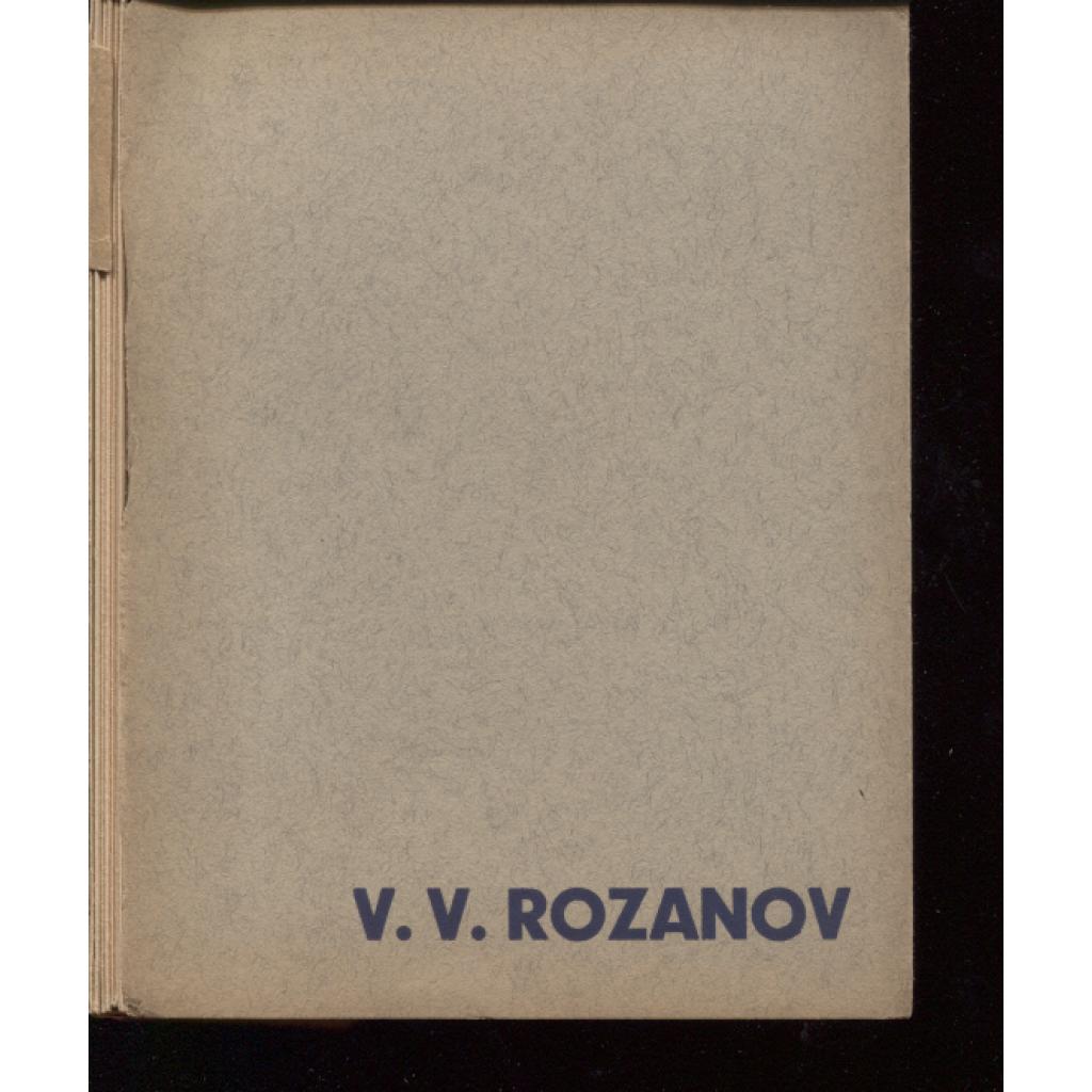 V. V. Rozanov (Stará Říše).