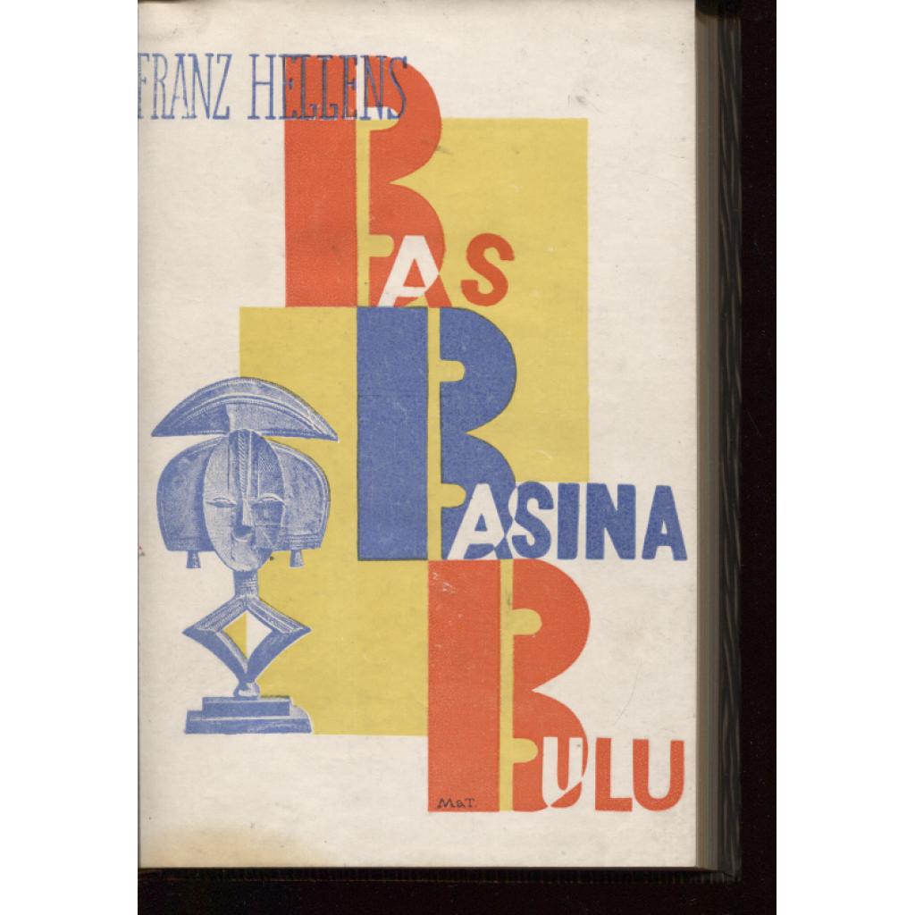 Bas-Basina-Bulu (obálka vevázána Karel Teige)