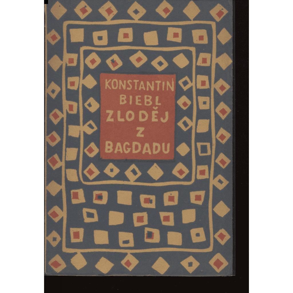 Zloděj z Bagdadu (obálka Josef Čapek)