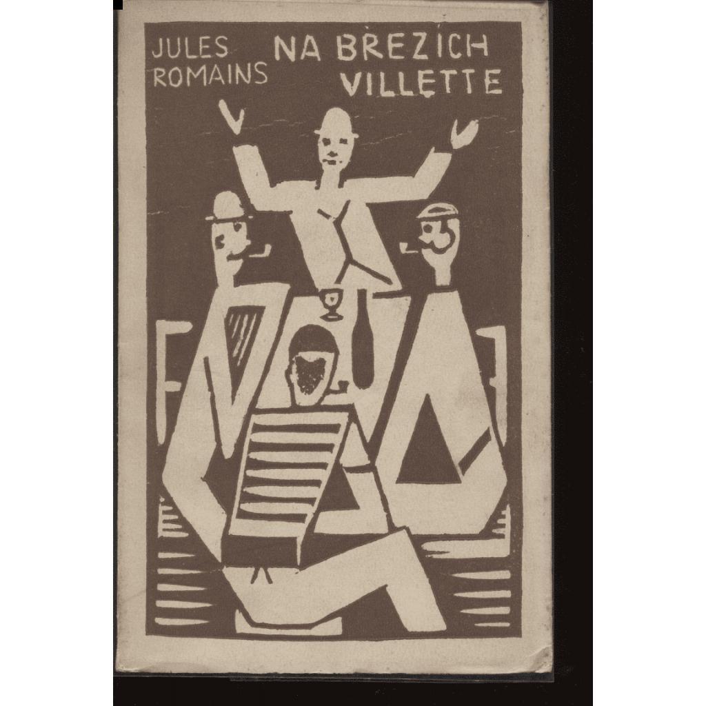 Na březích Villette (obálka Josef Čapek)