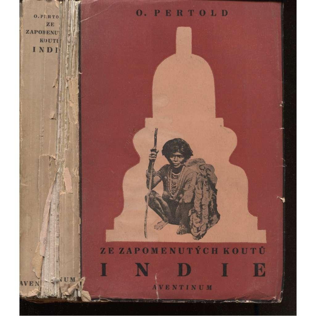 Ze zapomenutých koutů Indie (obálka Josef Čapek)