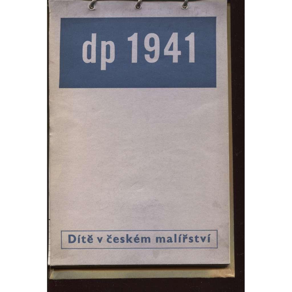 Dítě v českém malířství (kalendář 1941)
