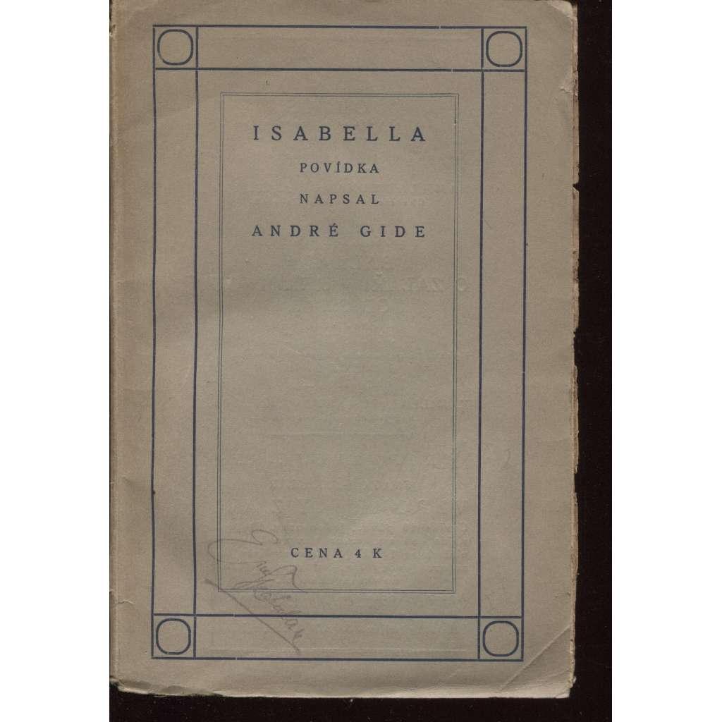 Isabella (ed. Knihy dobrých autorů)