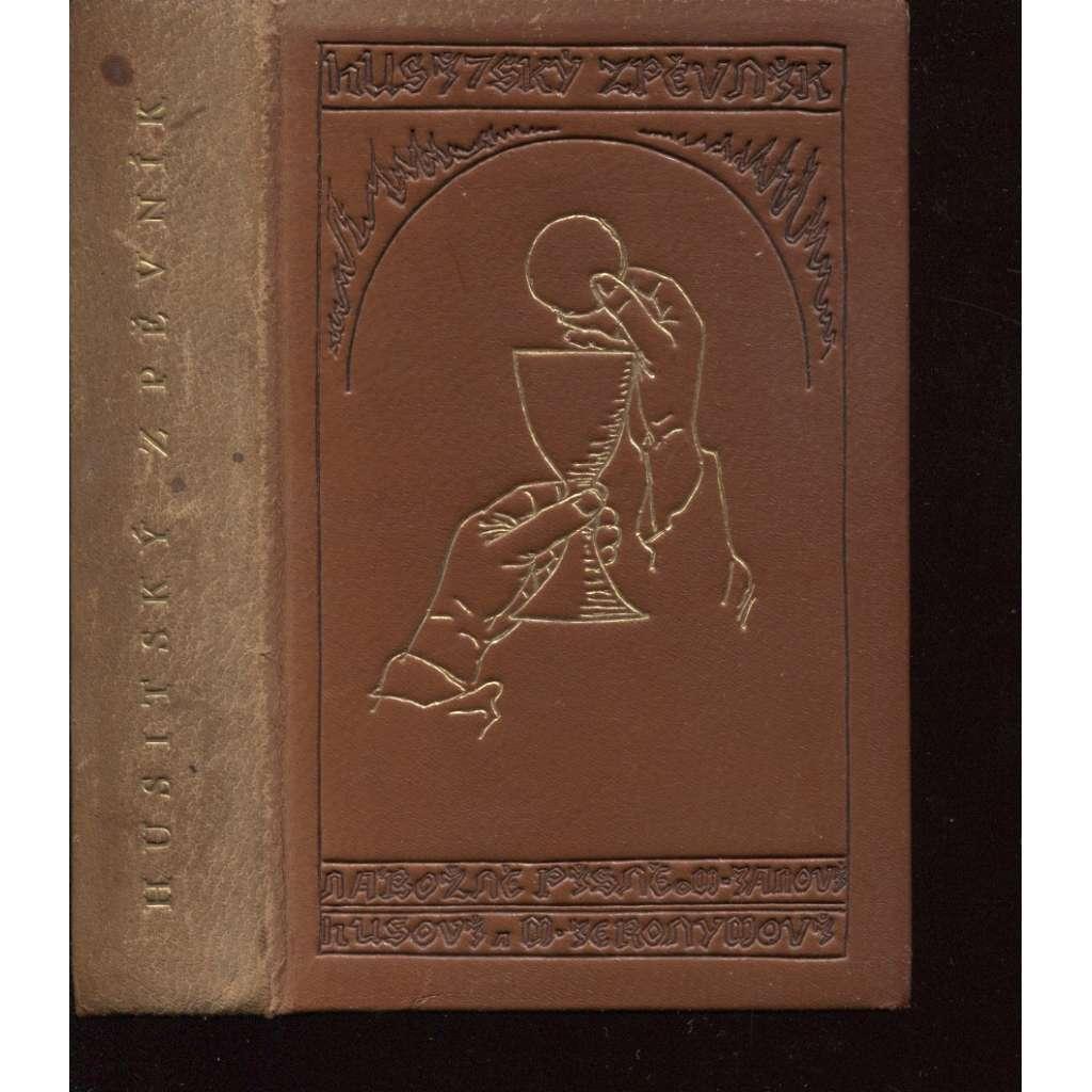 Husitský zpěvník (vazba a kresby František Bílek)