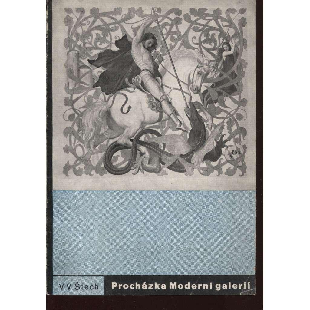 Procházka Moderní galerií (úprava Ladislav Sutnar)