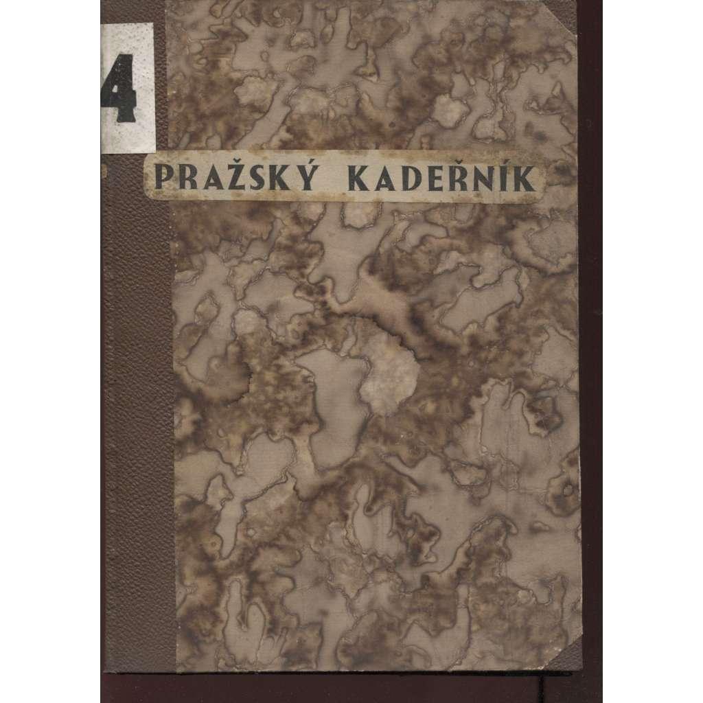 Pražský kadeřník, čísla 1-12, roč. IV./1935 (móda)