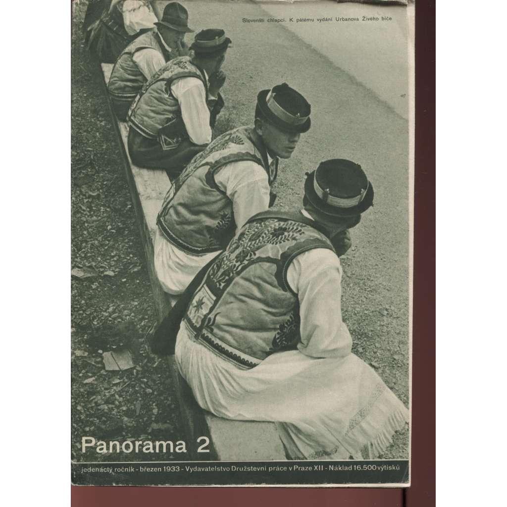 Panorama 2/1933 (Zpravodaj Družstevní práce)