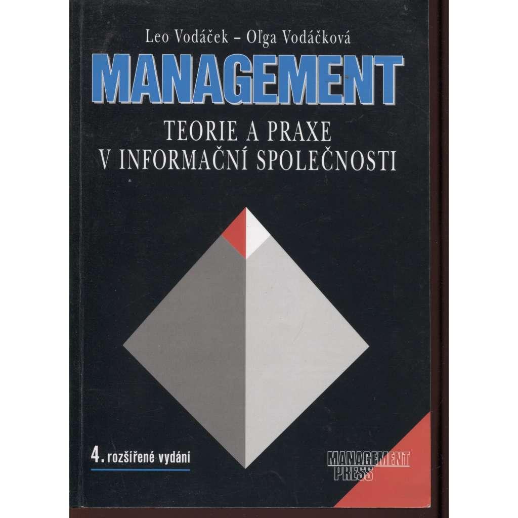 Management: Teorie a praxe v informační společnosti