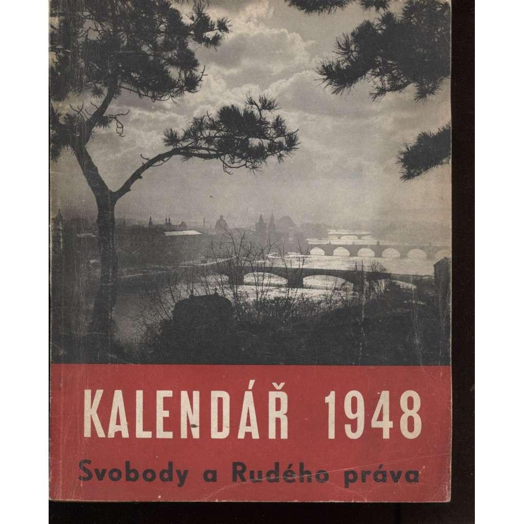 Kalendář Svobody a Rudého práva 1948