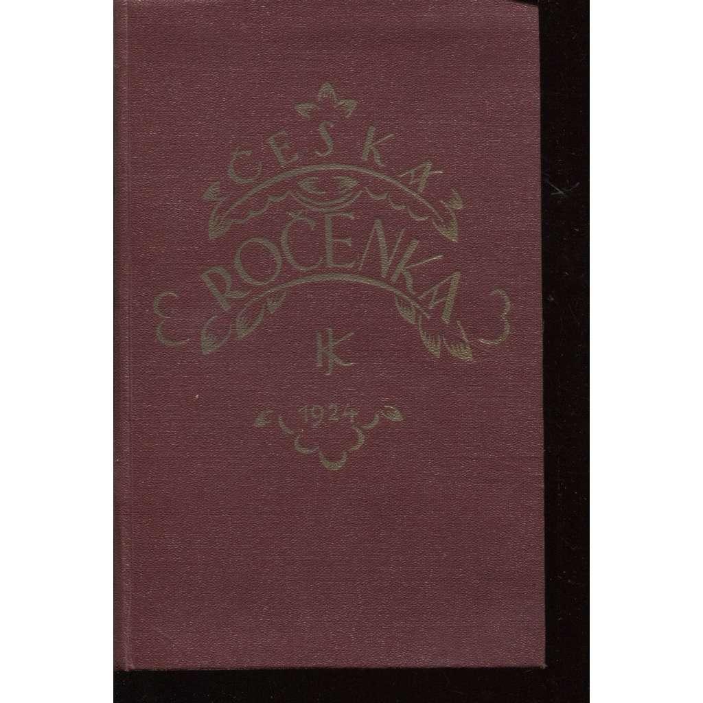 Česká ročenka 1924, ročník I.