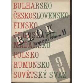 Blok - časopis pro umění, roč. II., číslo 9/1948