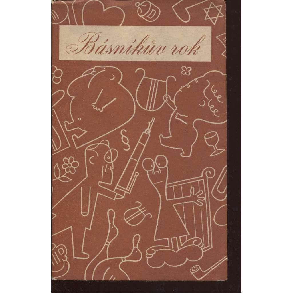 Básníkův rok 1935 - 1936 (typo L. Sutnar)