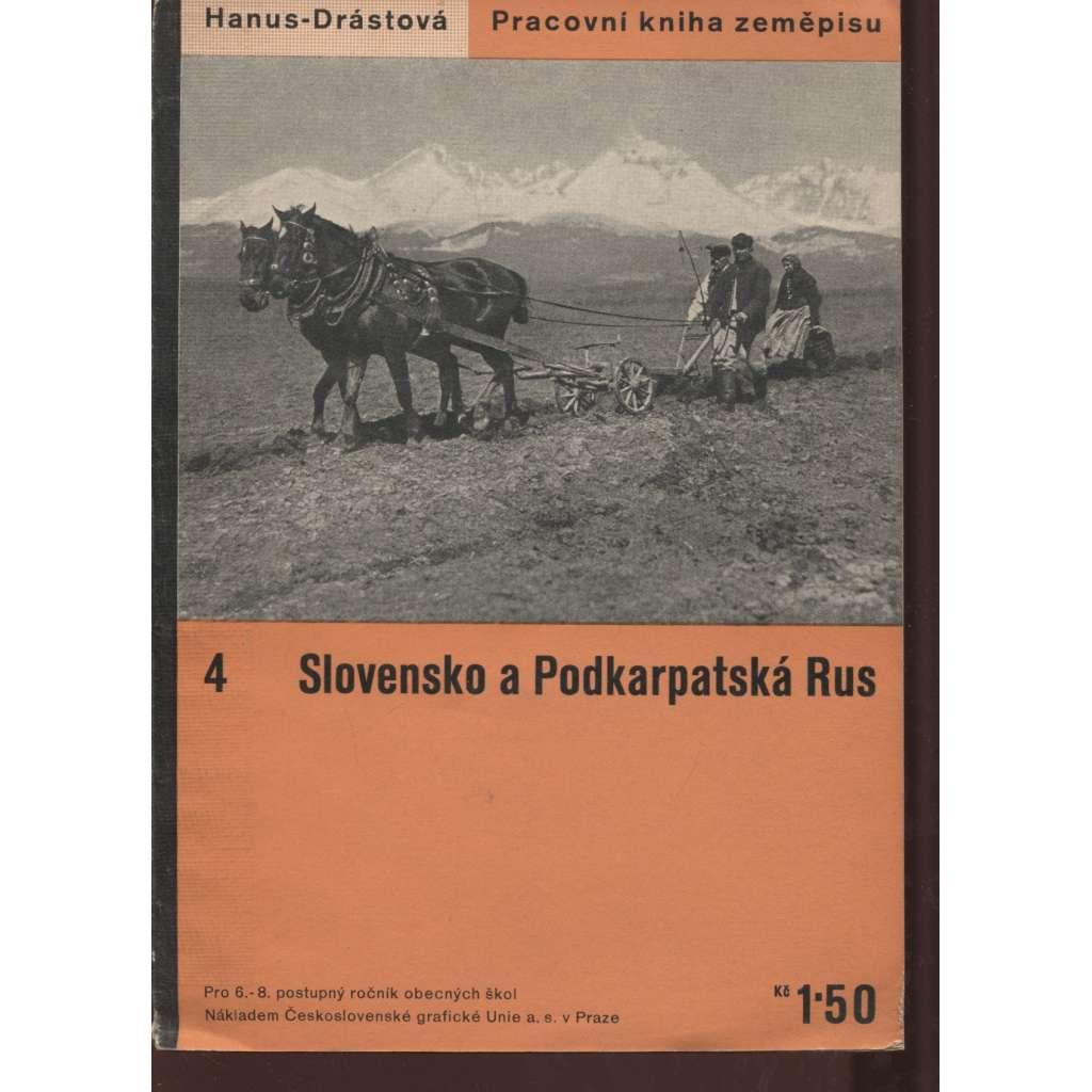 Slovensko a Podkarpatská Rus (obálka Ladislav Sutnar)