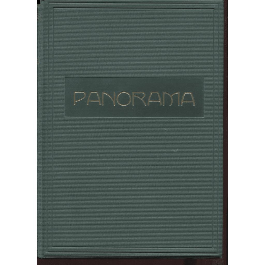 Panorama. Kulturní zpravodaj X., 1932-1933 - s obálkami