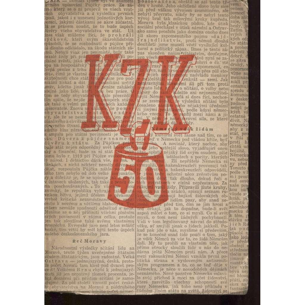 KZK. K padesátce K. Z. Klímy