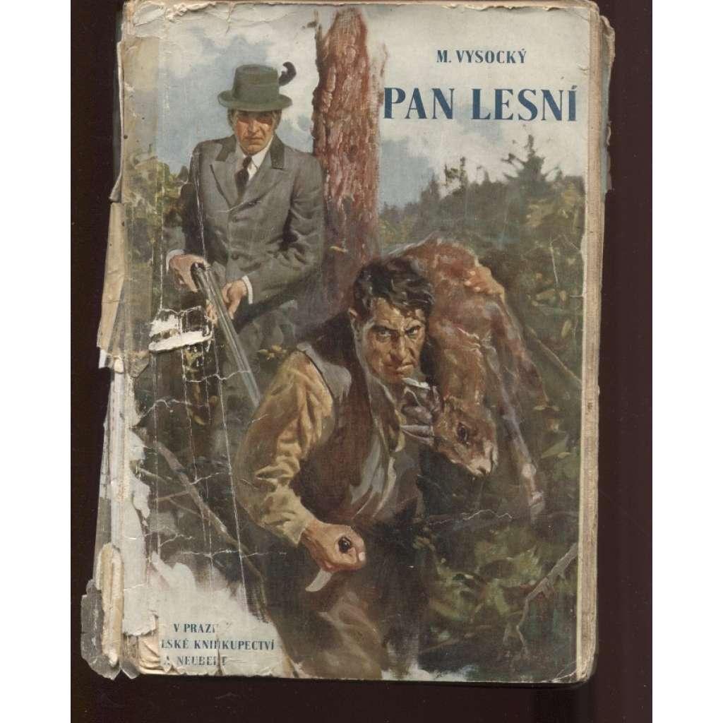 Pan lesní (obálka Zdeněk Burian)