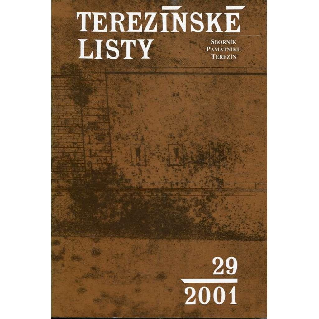 Terezínské listy 29/2001