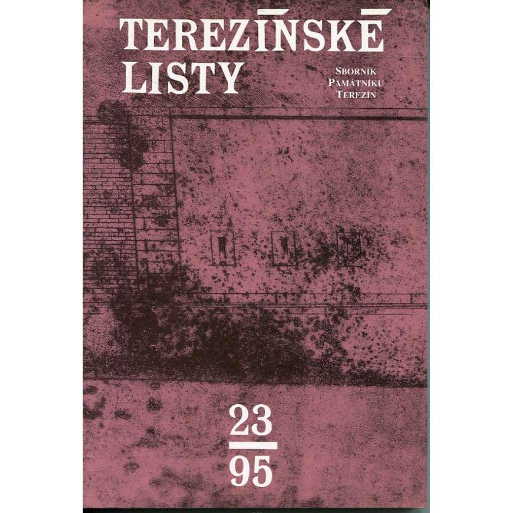 Terezínské listy 23/1995