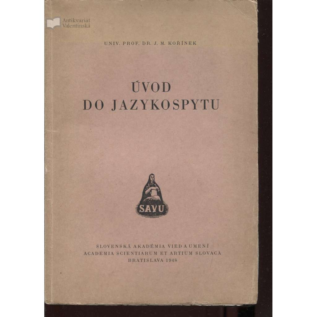 Úvod do jazykospytu (text slovensky)