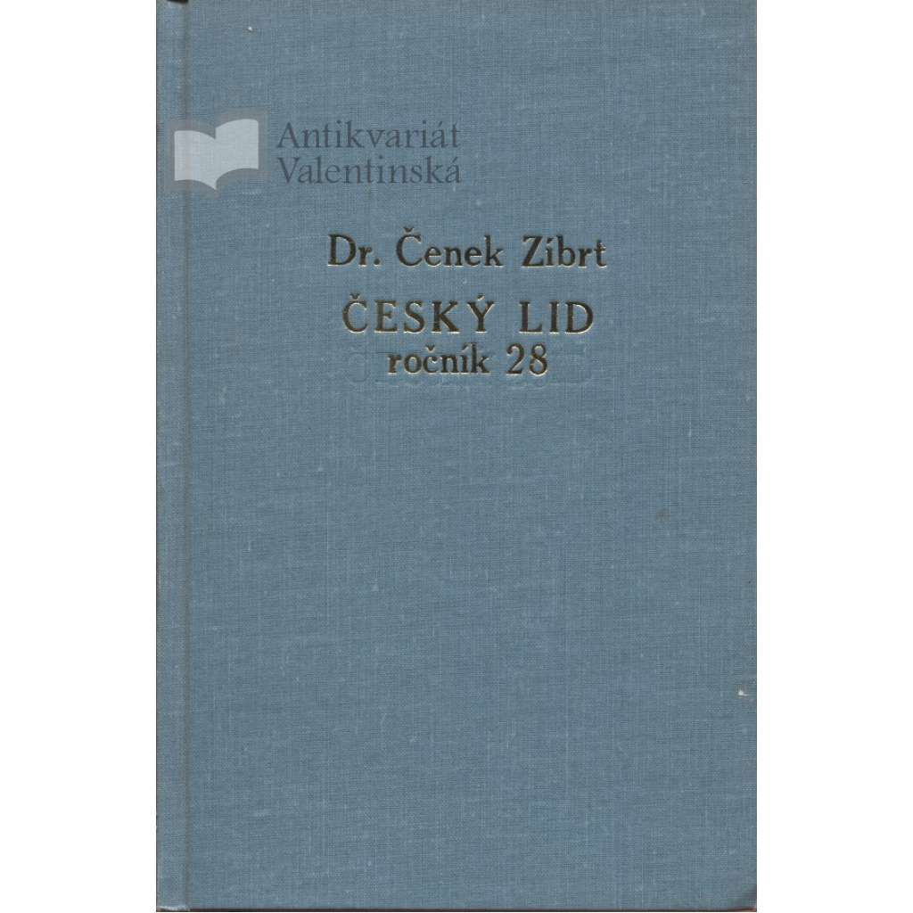 Český lid, ročník XXX./1930