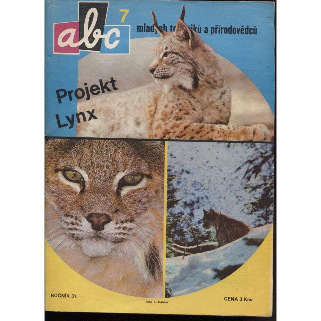 ABC mladých techniků a přírodovědců, č.7, roč.31/1986