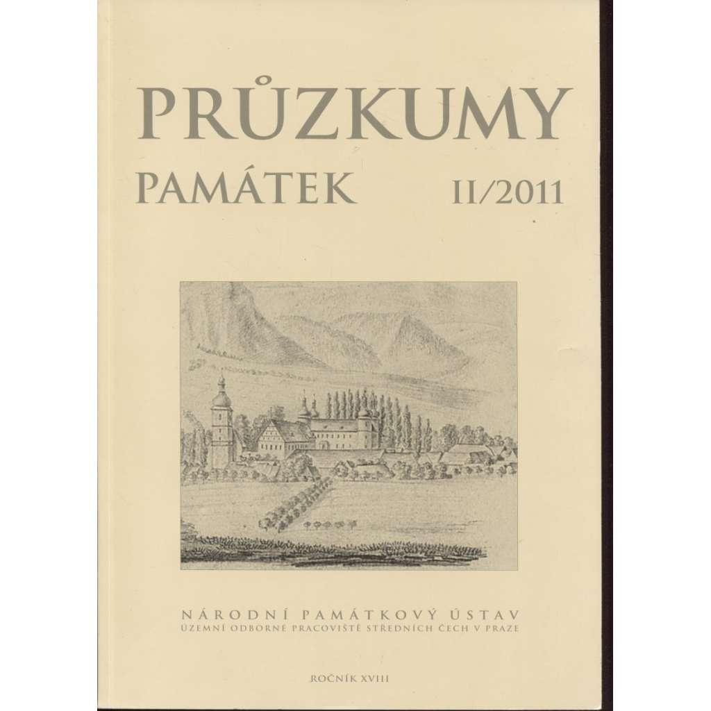 Průzkumy památek II/2011/XVIII