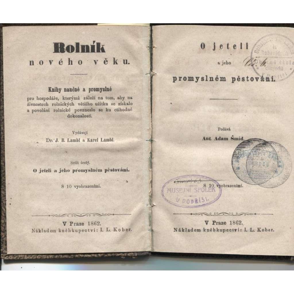 O jeteli a jeho promyslném pěstování (1862)