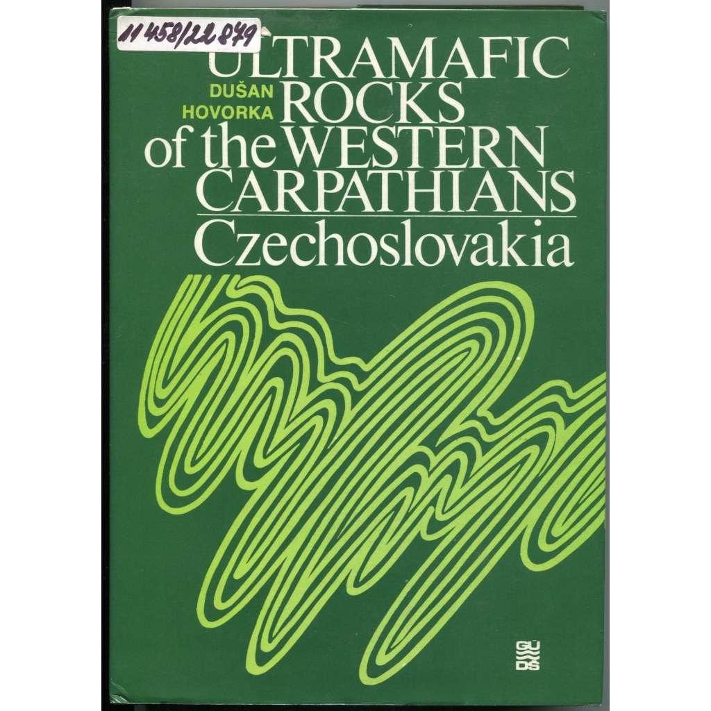 Ultramafic Rocks of the Western Carpathians - Czechoslovakia