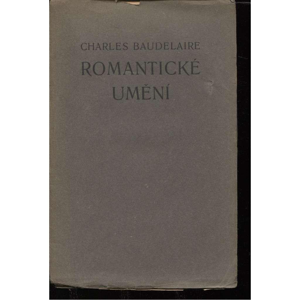 Romantické umění (Knihy dobrých autorů, sv. 77)