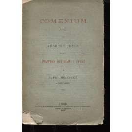 Comenium III. Památky reformace české I.