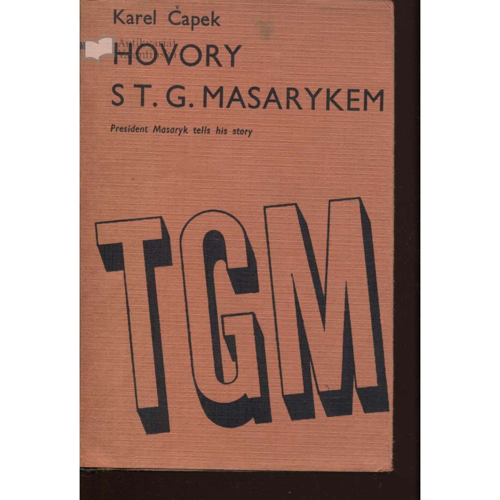 Hovory s T. G. Masarykem (exil, Londýn 1941)