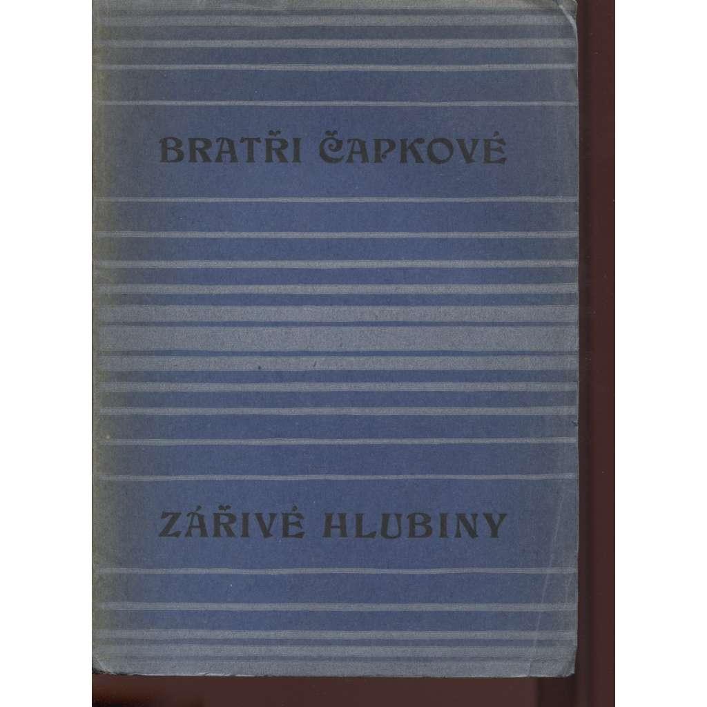 Zářivé hlubiny (obálka Josef Čapek)