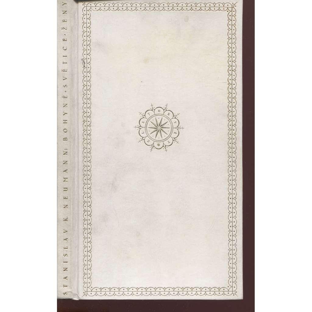 Bohyně, světice, ženy (litografie Josef Čapek, podpis Stanislav K. Neumann)