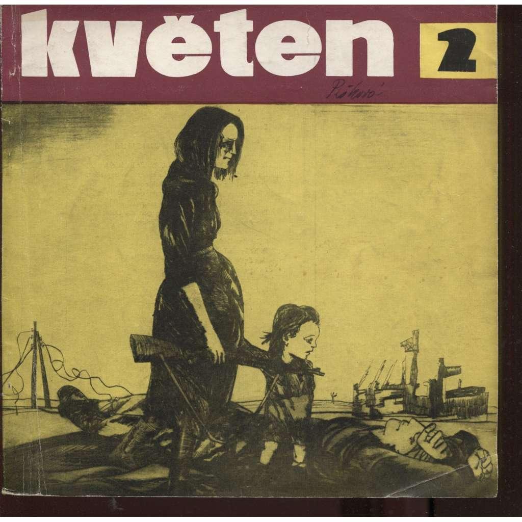 Květen, ročník IV., číslo 2/1959  (Literatura - umění - život)