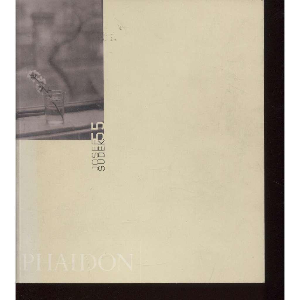 Josef Sudek 55 (text anglicky)