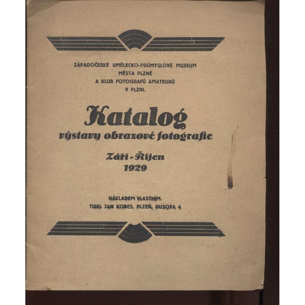 Katalog výstavy obrazové fotografie
