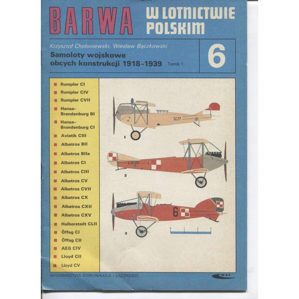 Barwa w lotnictwie Polskim 5. (text polsky, letadla)