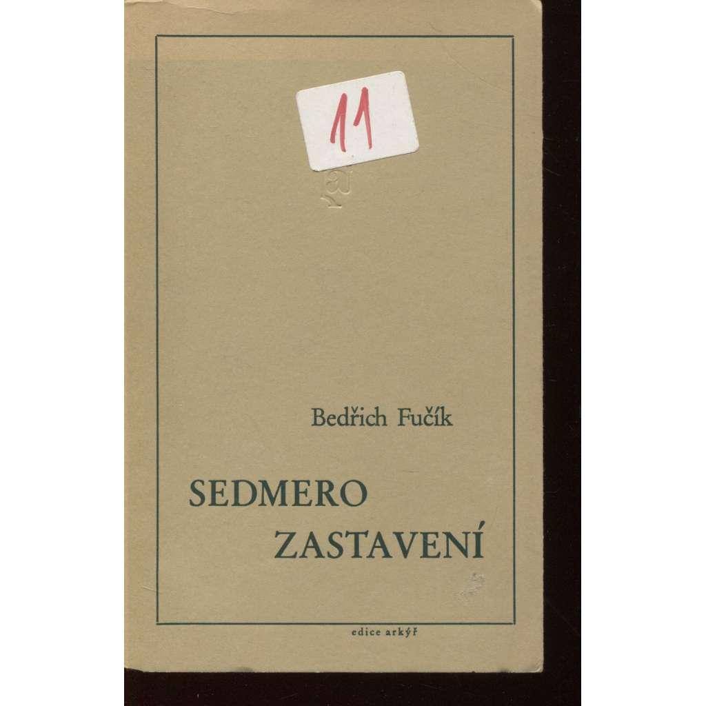 Sedmero zastavení (Arkýř, exil, exilové vydání)